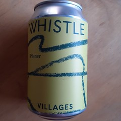 Villages - Whistle Pilsner (330 ml can)