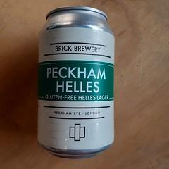 Brick Brewery - Peckham Helles GF (330 ml can)