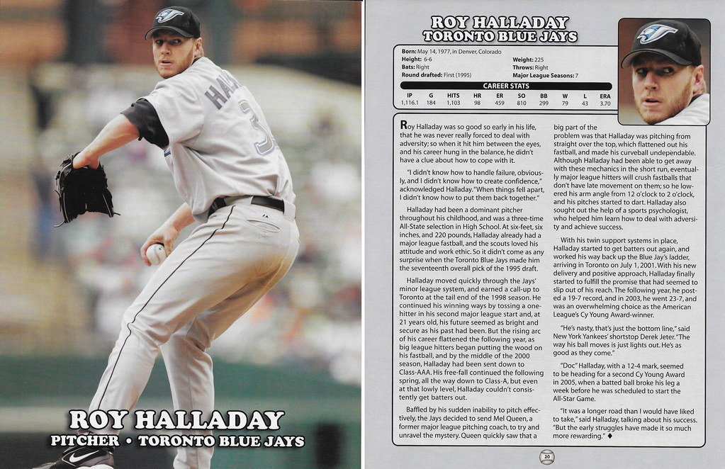 2006 East End Publishing Superstar Album Posters - Halladay