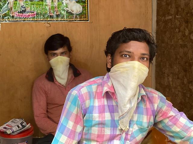City Style - The Masks of Zamrudpur, South Delhi