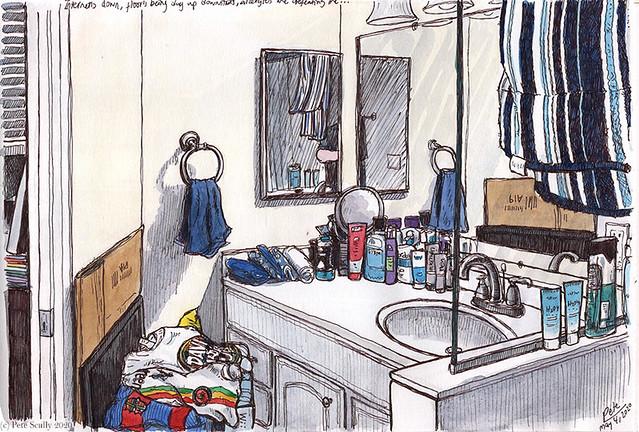 upstairs bathroom 050420