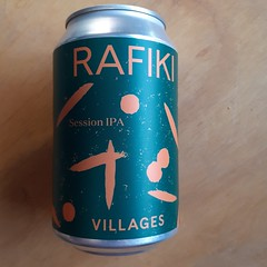 Villages - Rafiki Session IPA (330 ml can)