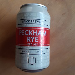 Brick Brewery - Peckham Rye (330 ml can)