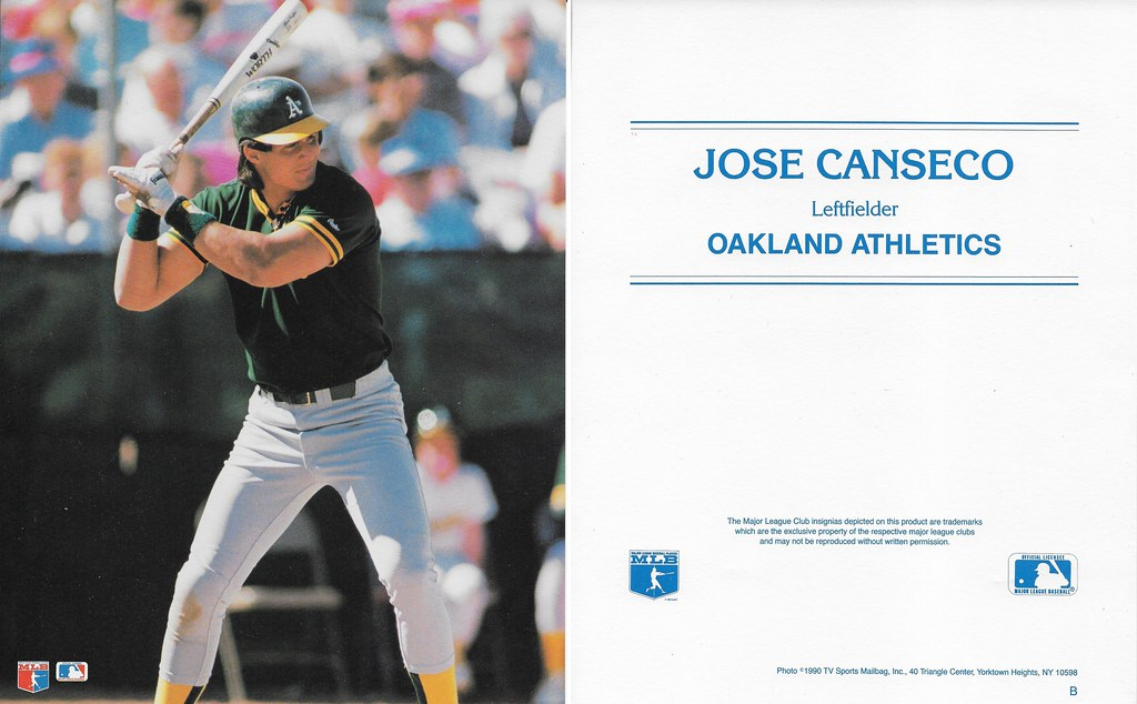 1990 TV Sports Mailbag - Canseco, Jose B
