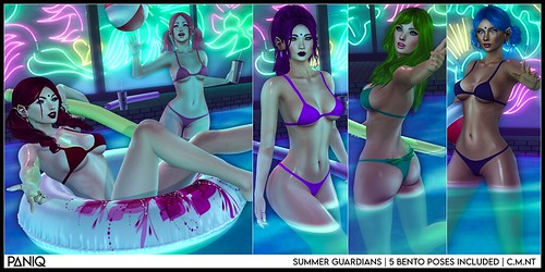 PANIQ Summer Guardians Pose Pack VIP Gift