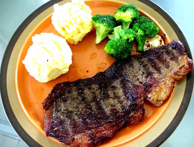 Pan-grilled Aussie wagyu