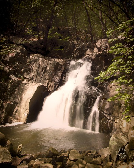 Water Falls at Schooleys Mountain Road Trail