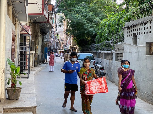 City Style - The Masks of Zamrudpur, South Delhi