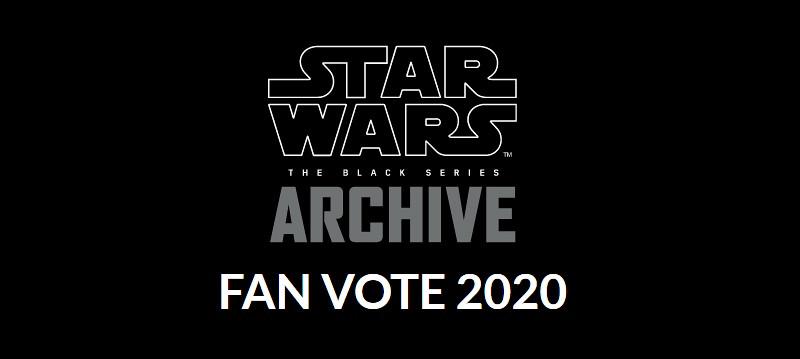 哪位角色是你的最愛~? Hasbro《星際大戰》黑標系列典藏粉絲投票 2020 活動開始!(Star Wars The Black Series Archive Fan Vote 2020)