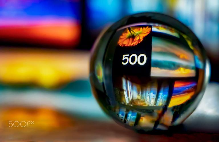 Fotografia em Palavras: Número 500