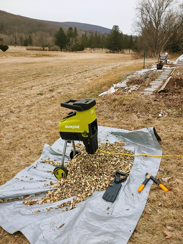 Making Wood Chips