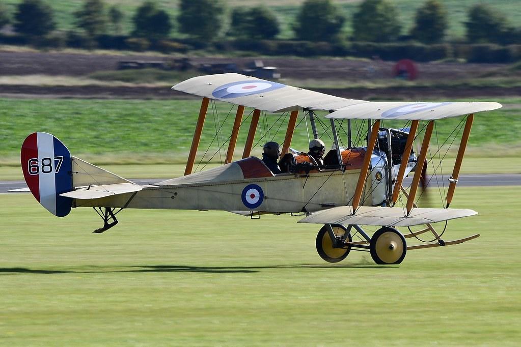 BE2c Bi-Plane Replica G-AWYI 687