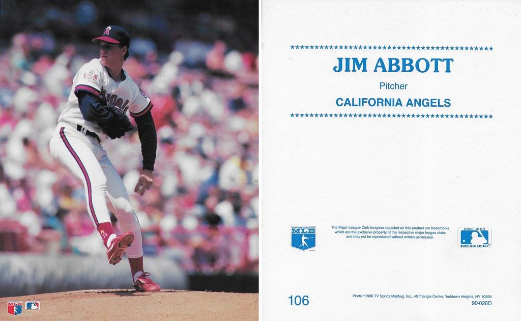 1990 TV Sports Mailbag - Abbott, Jim