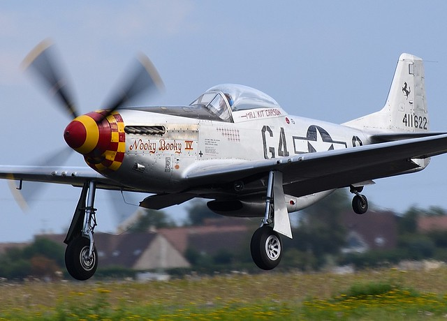 North American P-51D Mustang F-AZSB  411622 Nooky Booky IV 44-74427 USAAF 9592 RCAF