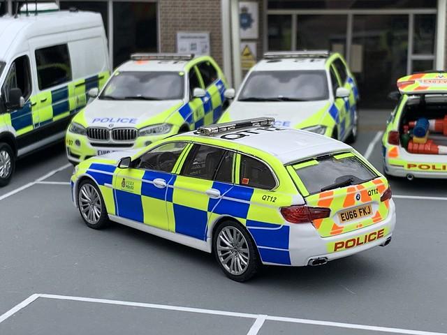 1/43 Code 3 Schuco BMW 5 Series Essex Police Traffic Car