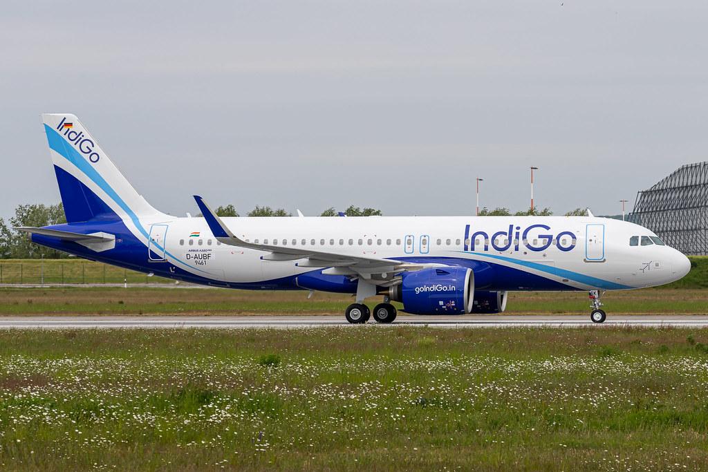 A320-271N Indigo D-AUBF - VT-ISK MSN9461