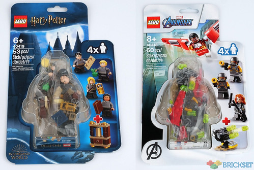 40419 and 40419 minifigure packs