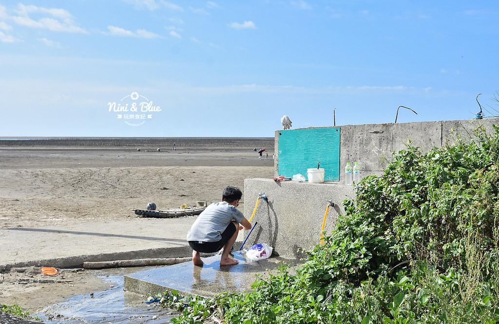 新竹景點 海山漁港觀海平台玩沙01