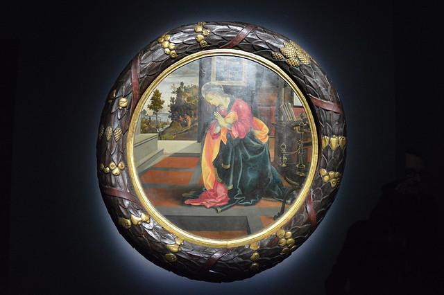 02_L'Annunciazione di Filippino Lippi (Mostra temporanea a Palazzo Marino, Milano, dal 29 novembre 2019 al 12 gennaio 2020)