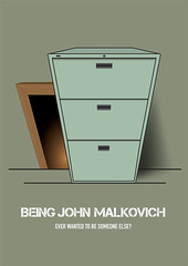 Being John Malkovich - Alternative Movie Poster