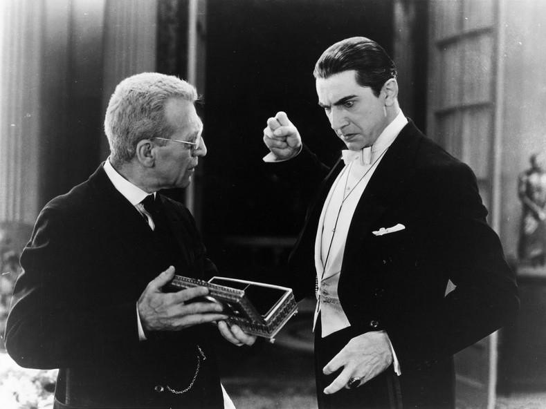 Edward Van Sloane et Bela Lugosi dans le film Dracula (Tod Browning, 1931)