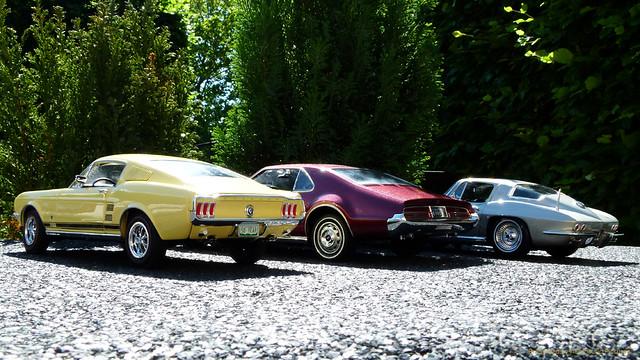 MustangGT Toronado Corvette