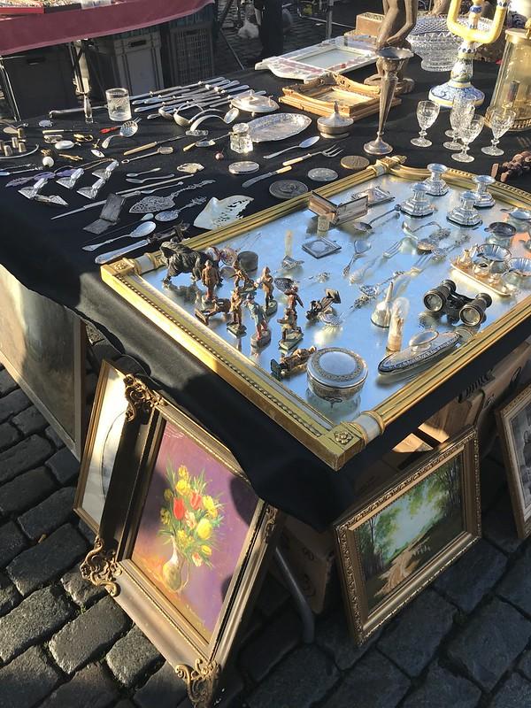 Marché aux puces en Jeu de Balle (Bruselas)