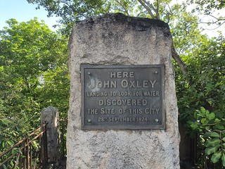 Oxley Monument North Quay