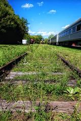 Uxbridge Ontario - Canada - Railroad Museum -- Downtown  - Heritage