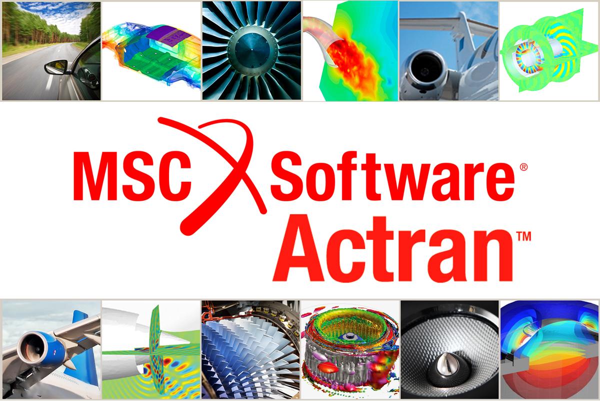 MSC Actran 2020 full license