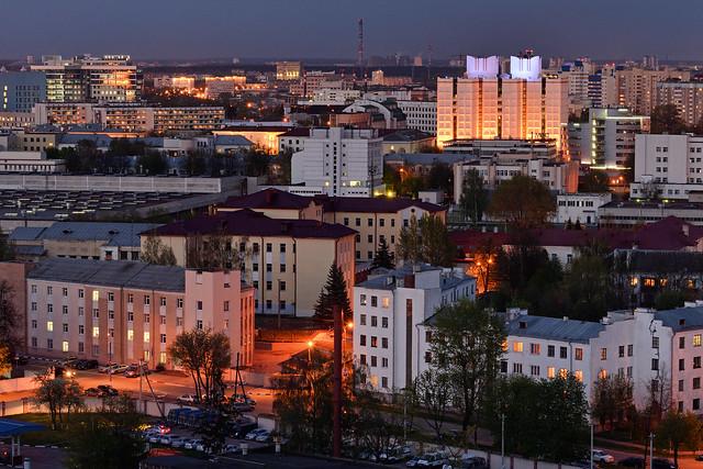 Seen from Grushevka