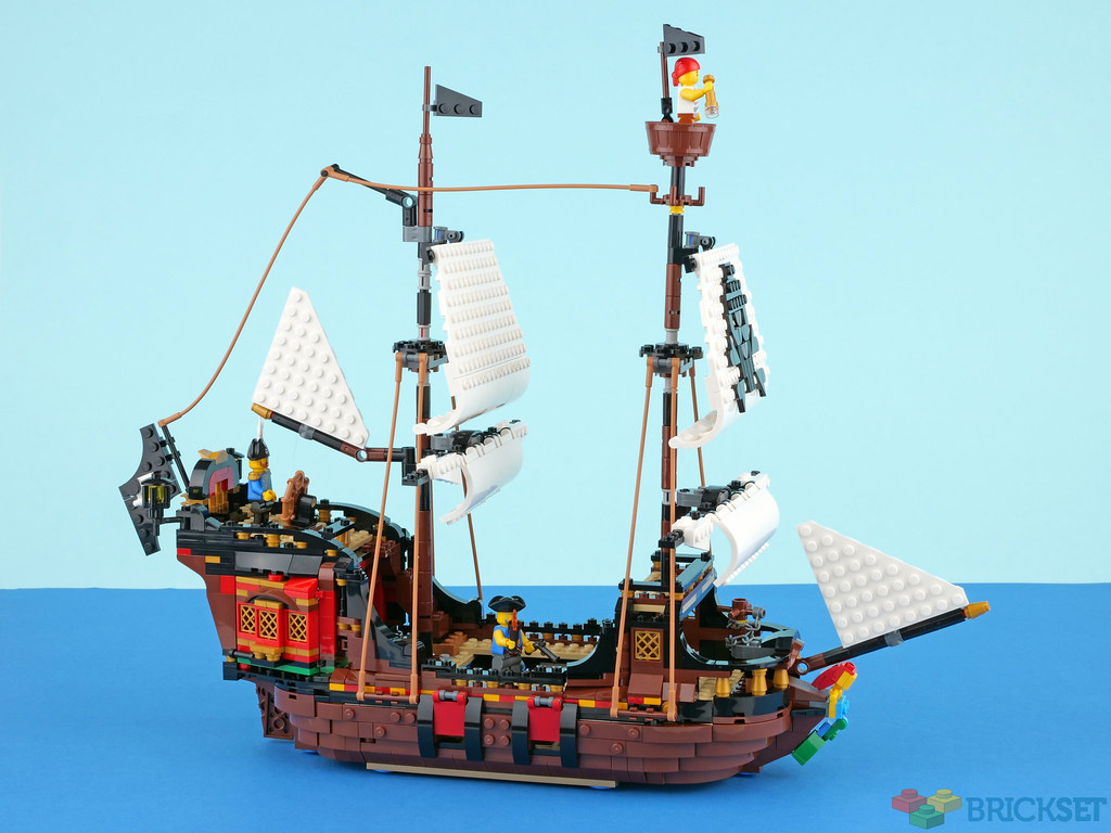 Review: 31109 Pirate Ship