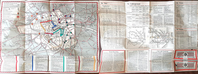 Map & information for Coronation 1937