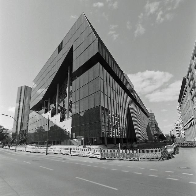 Berlin Kreuzberg Neubau Axel Springer Verlag 15.5.2020