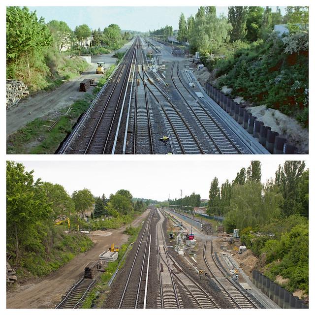 DB Baustelle Dresdner Bahn 10.5.2020/17.5.2020