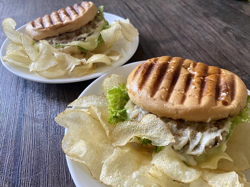The Saucier Mushroom Burger