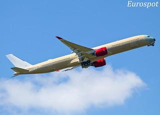 F-WZNY Airbus A350-1000 Virgin Atlantic