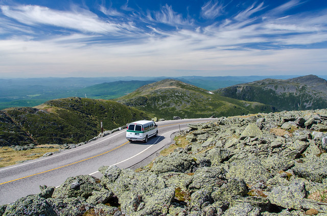 Mt. Washington Auto Road to the Sky