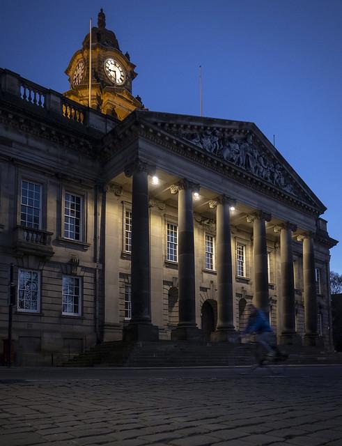 Town Hall, Dalton Square, Lancaster, Lancashire, UK