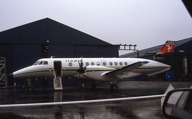 G-WAND. Manx Airlines British Aerospace Jetstream 41