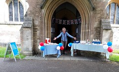 Wiltshire Heytesbury church cornavirus hero