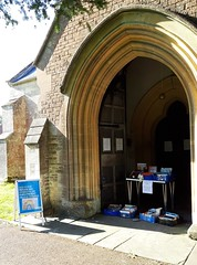 Wiltshire Heytesbury church cornavirus hero Bookstall 1