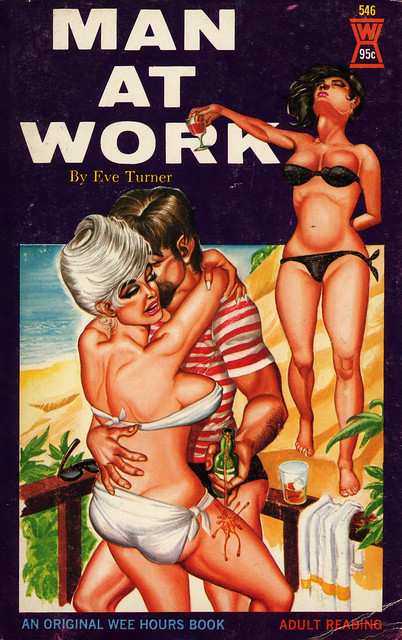 Wee Hours Books 546 - Eve Turner - Man at Work
