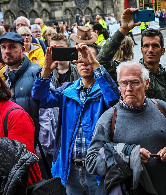 Tourists Shoot MacGregor Clan Parade