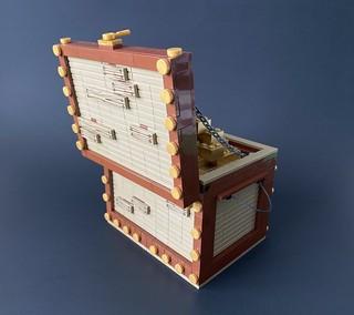 Treasure chest - the golden bricks.