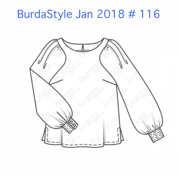 Burda tech drawing 012018 # 116