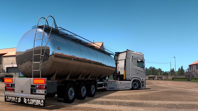 Scania S650 + Parcisa Tank (WIP)