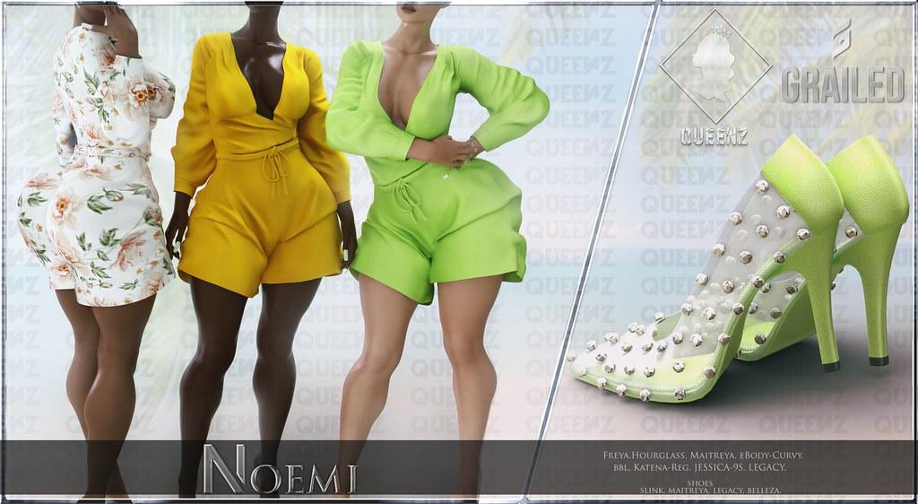 Noemi Romper & Heels