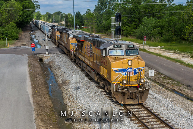 UP 5422 | GE AC45CCTE | NS Memphis District West End