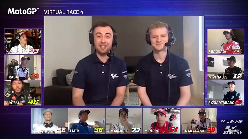 MotoGP Virtual Race San Marino Comentary